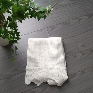 Imported (India) Lace Kitchen Towel (NWOT)